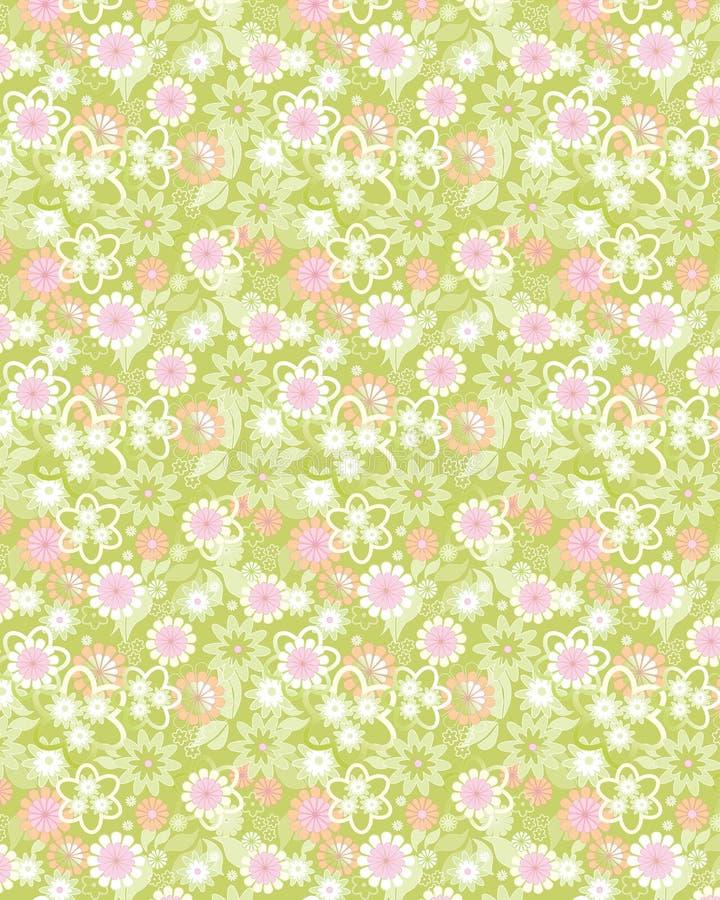(1) backgr kwiaty royalty ilustracja