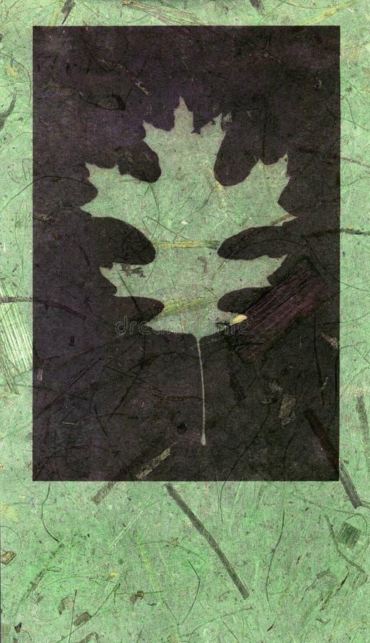 1 bakgrundsleaf stock illustrationer