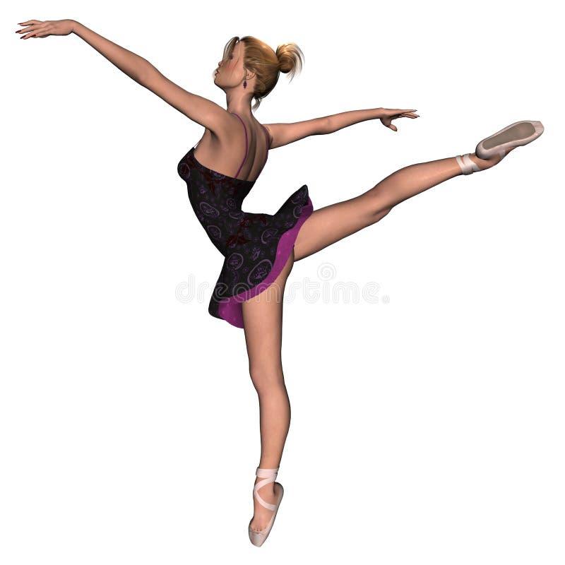 1 balerina ilustracji