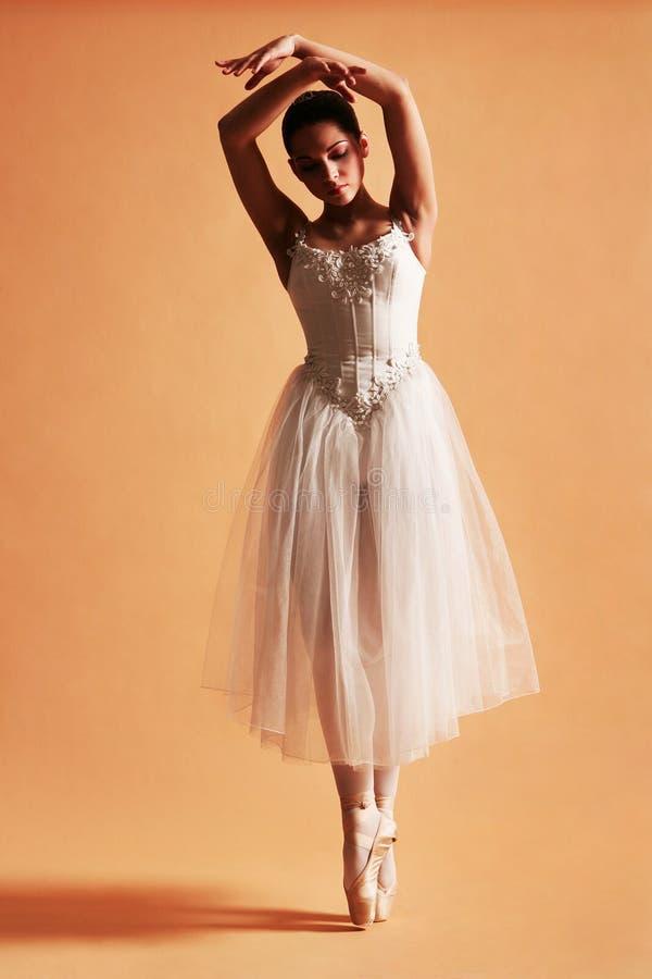 (1) balerina fotografia stock