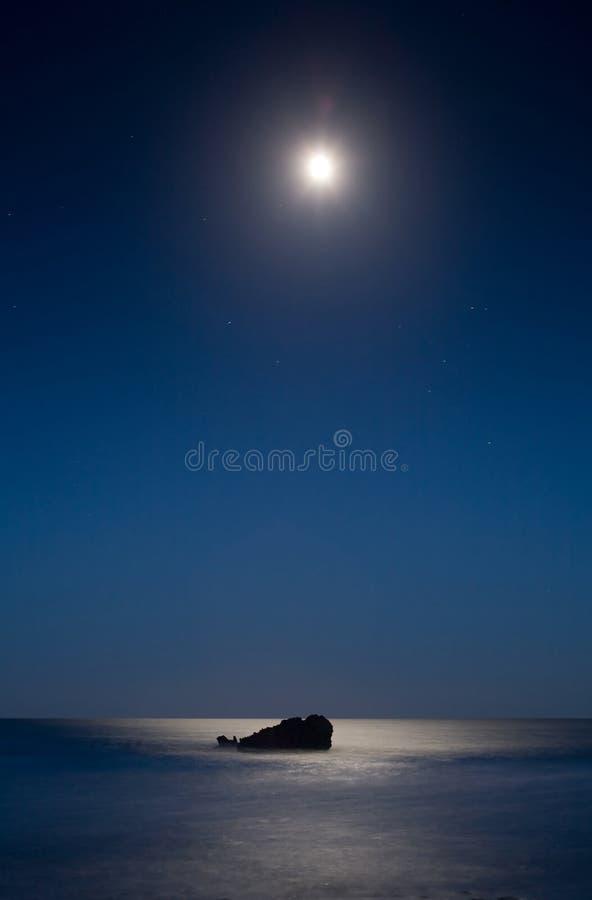 1 beachscape malibu 免版税库存照片