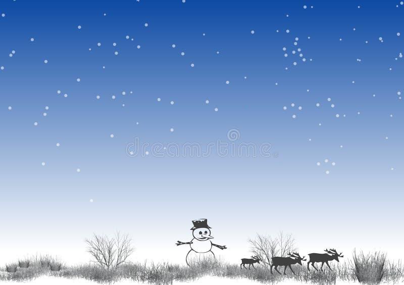 (1) biegun północny ilustracji