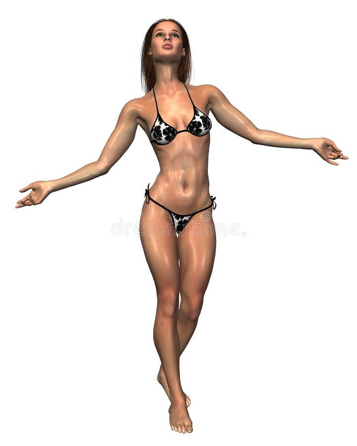 1 bikini royalty ilustracja