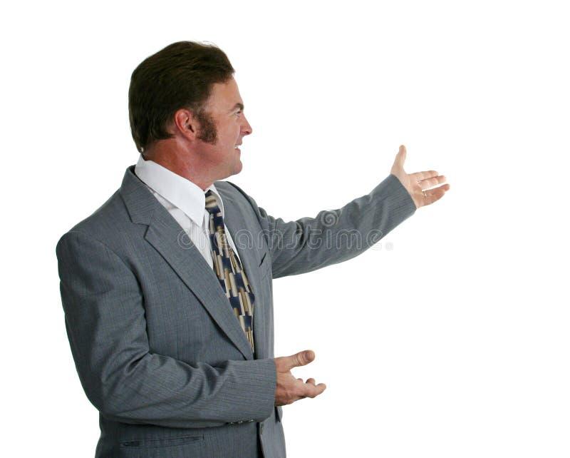 1 biznesową prezentację zdjęcie stock
