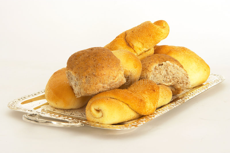 1 blandade bröd arkivbild