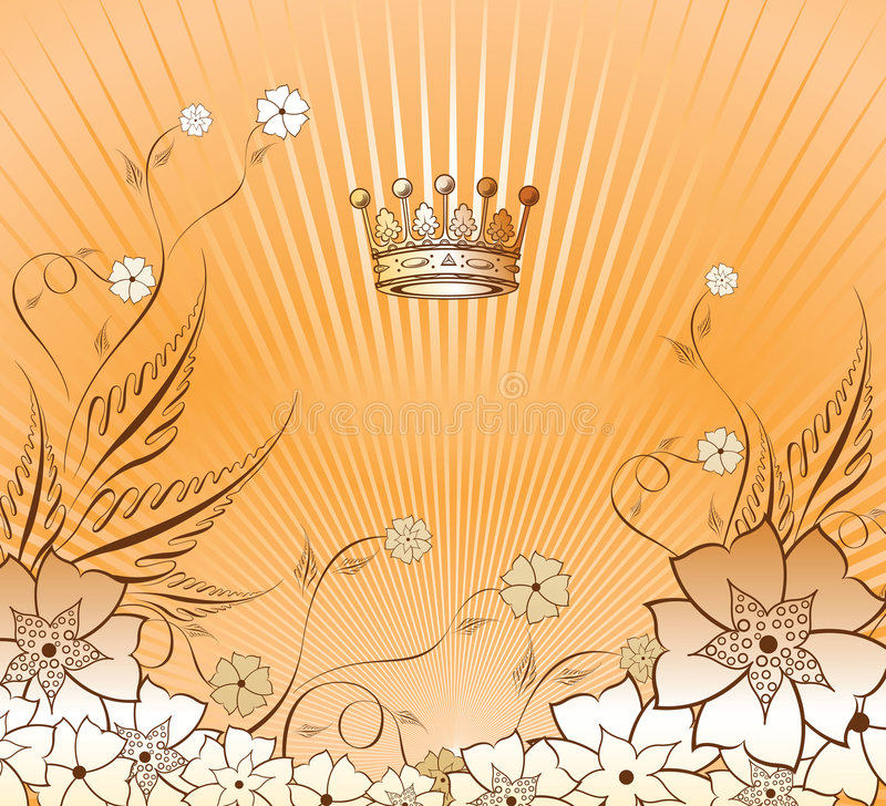 1 blom- bakgrund 2 stock illustrationer