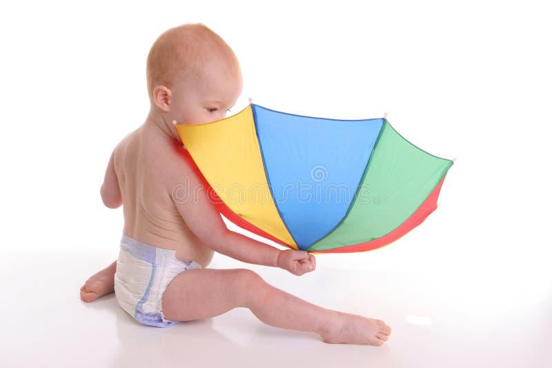 1 brella младенца стоковое изображение