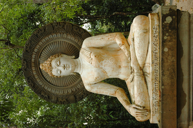 1 Buddha Statue in Statue Garden royalty free stock photo