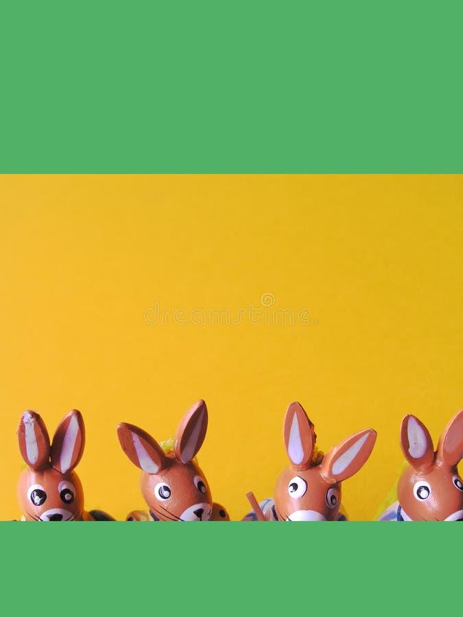 1 Bunnies Πάσχα Στοκ εικόνα με δικαίωμα ελεύθερης χρήσης