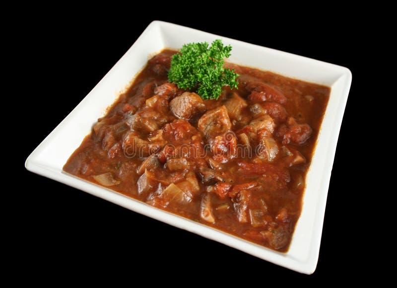 1 casserole βόειου κρέατος κόκκινο κρασί στοκ φωτογραφία με δικαίωμα ελεύθερης χρήσης