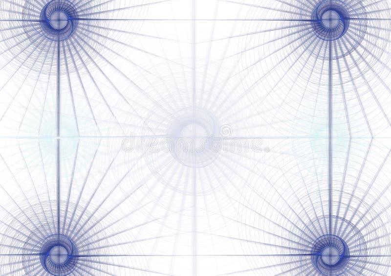 1 corporativo azul ilustración del vector