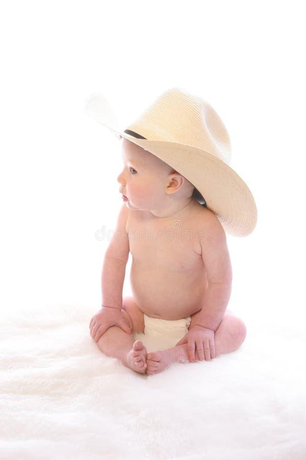 1 cowboy little royaltyfri fotografi