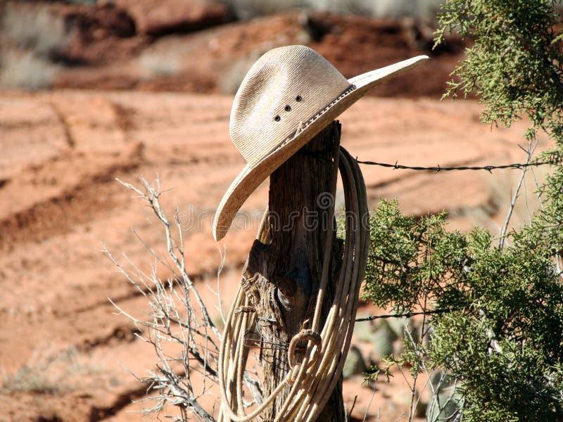 1 cowboyhatt royaltyfri bild