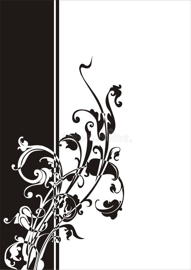 1 dekoracyjni kwiaty ilustracja wektor