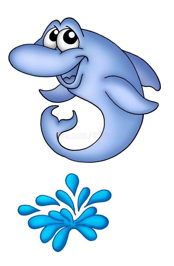1 delfinów ilustracji