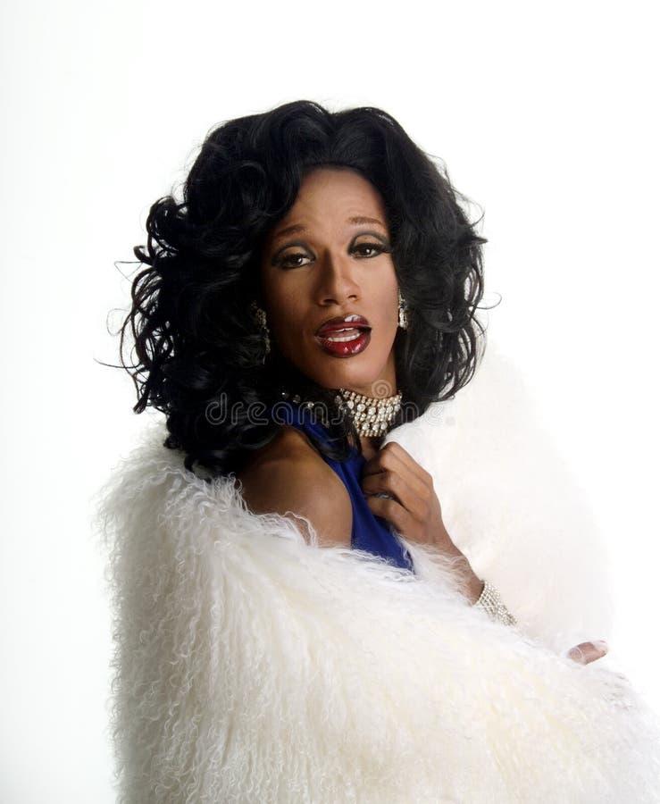 1 drag queen zdjęcie stock