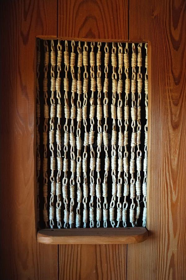 1 drzwi 3 wnętrza drewna fotografia royalty free