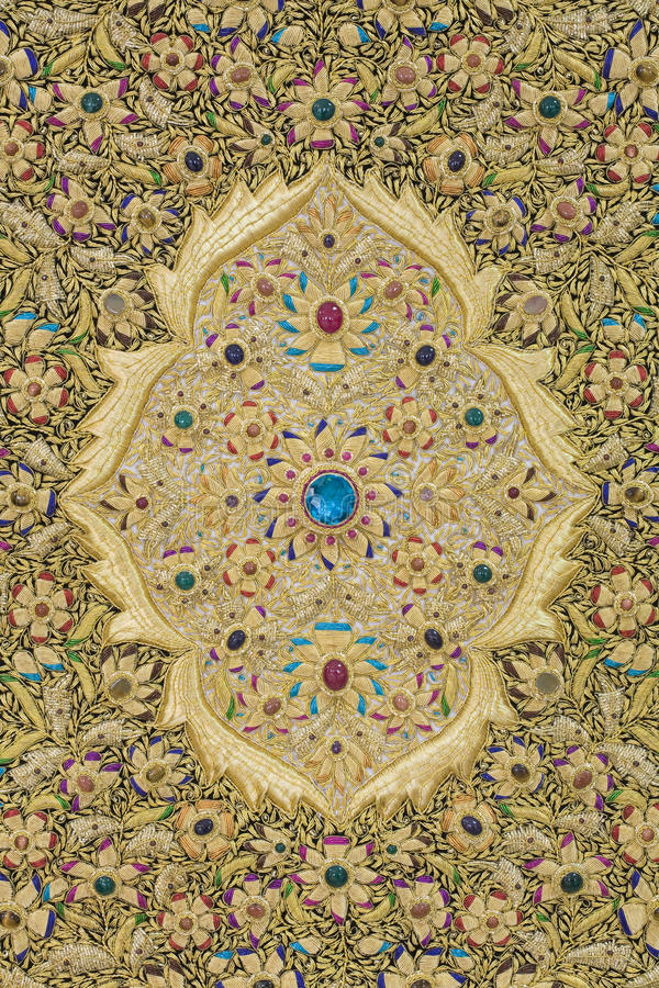 (1) dywanowy Oriental zdjęcie royalty free