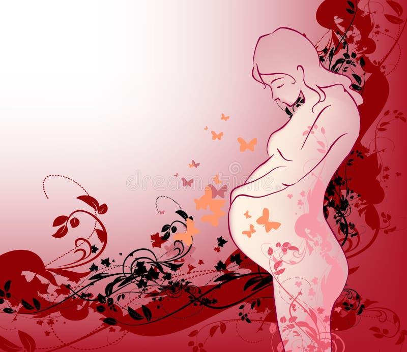 (1) dziecka dziewczyny czekanie ilustracja wektor