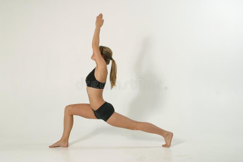 1 e 1 fizycznej fitness model obraz royalty free