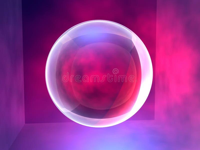 1 esférico ilustración del vector