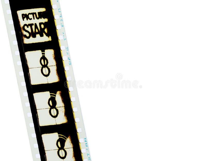 1 filmstrip 35mm стоковое изображение
