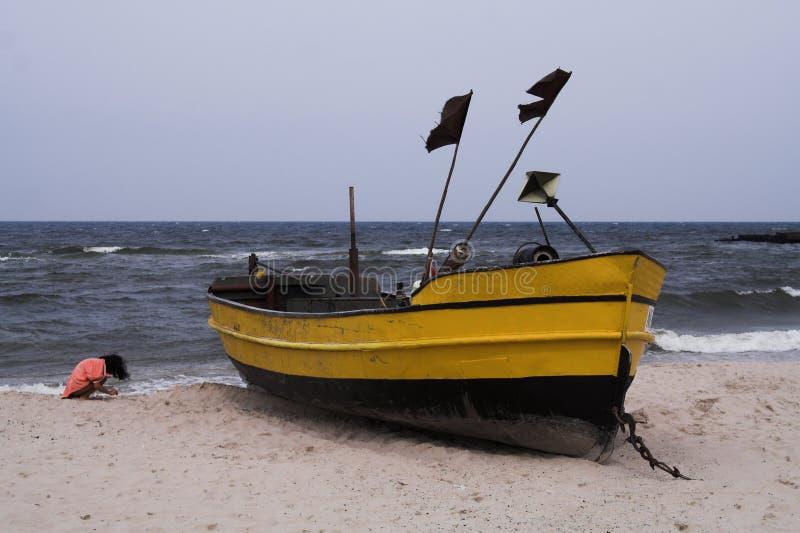1 fishboat obrazy royalty free
