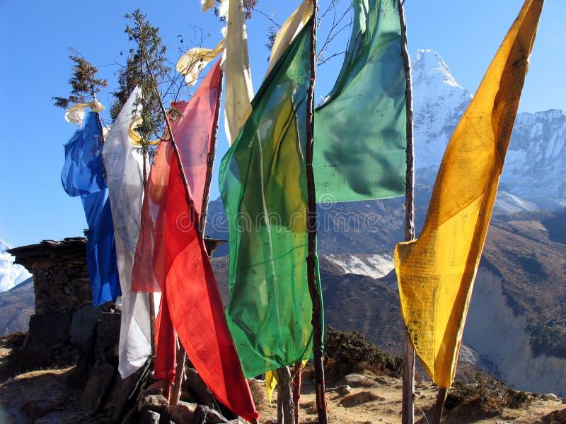 1 flagi modlitewne obrazy stock