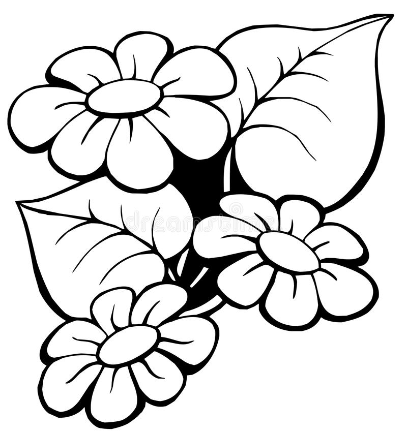 1 floral κινητήριος διανυσματική απεικόνιση