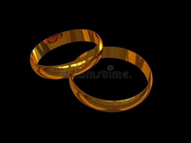 1 gifta sig för band royaltyfria foton