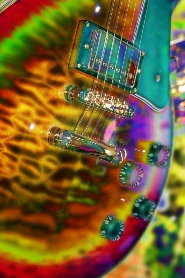 1 gitarr arkivfoto