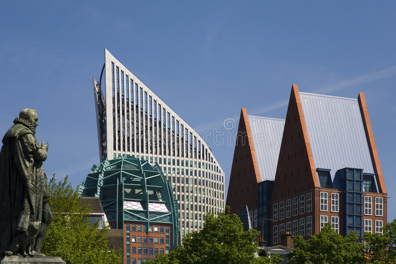 1 Hague linia horyzontu zdjęcia royalty free