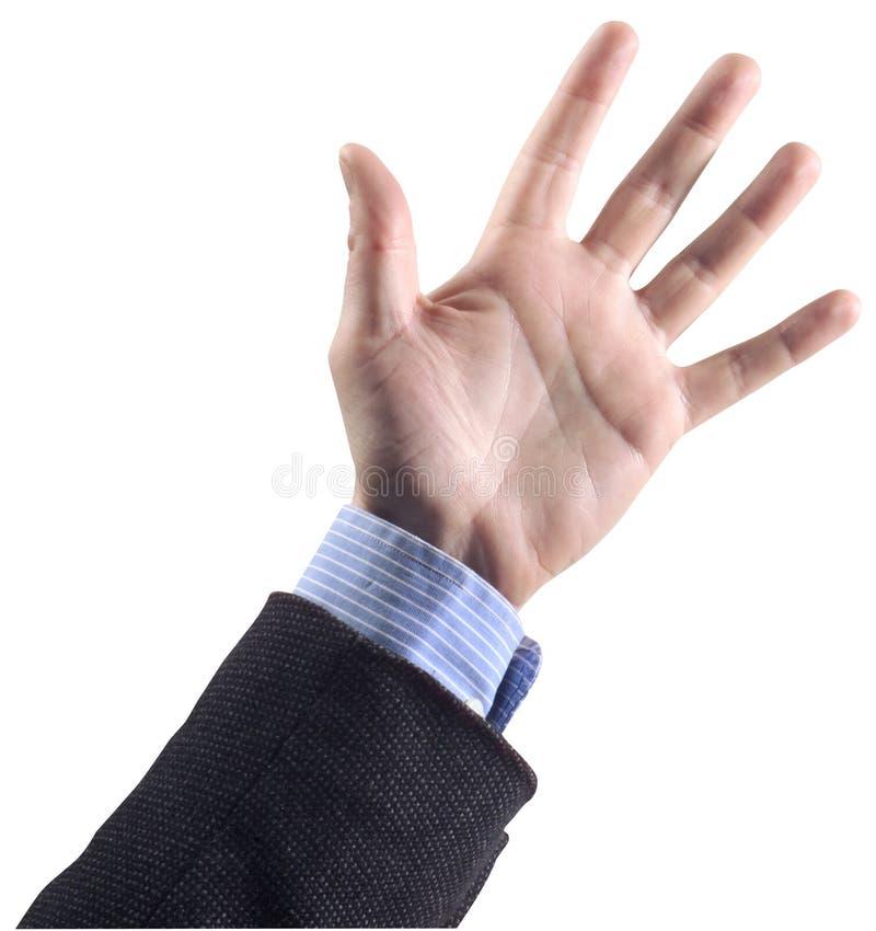1 hand arkivfoto