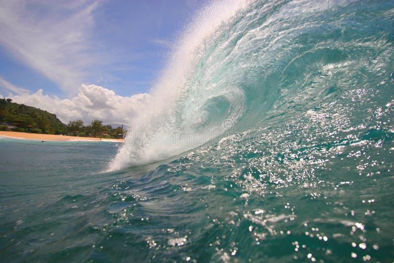 1 havwave royaltyfri bild