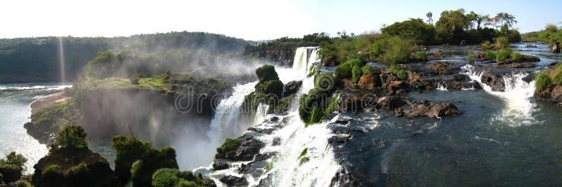 1 iguazu падений панорамное стоковое фото rf