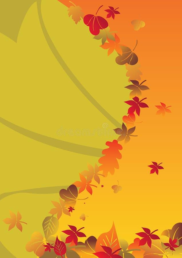 1 jesienią tło royalty ilustracja