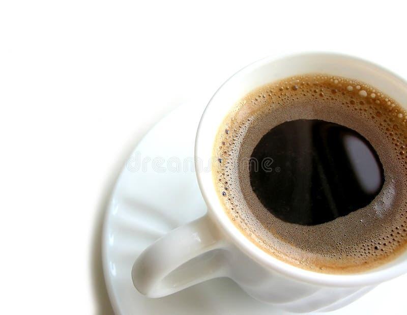 1 kaffekopp royaltyfri bild