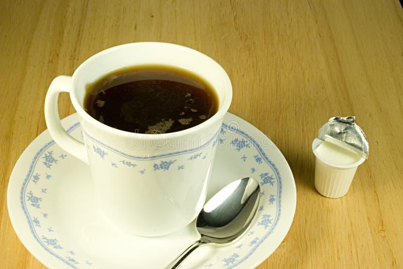 1 Kaffekräm Royaltyfri Fotografi