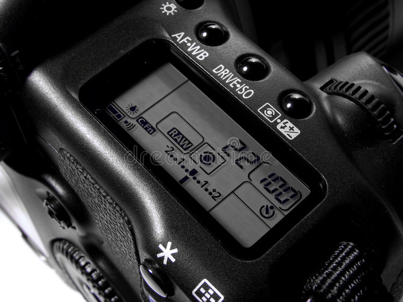 1 kamera cyfrowa zdjęcia stock