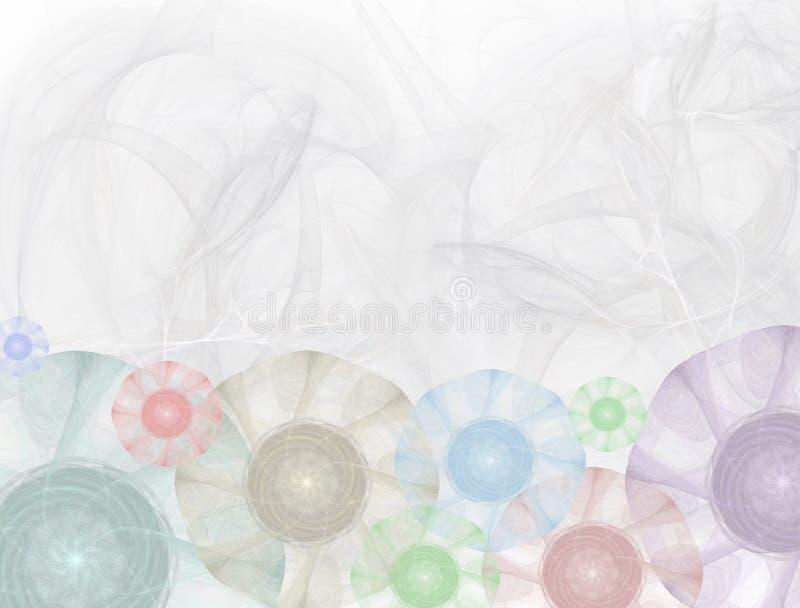 1 kantblommadiagram stock illustrationer