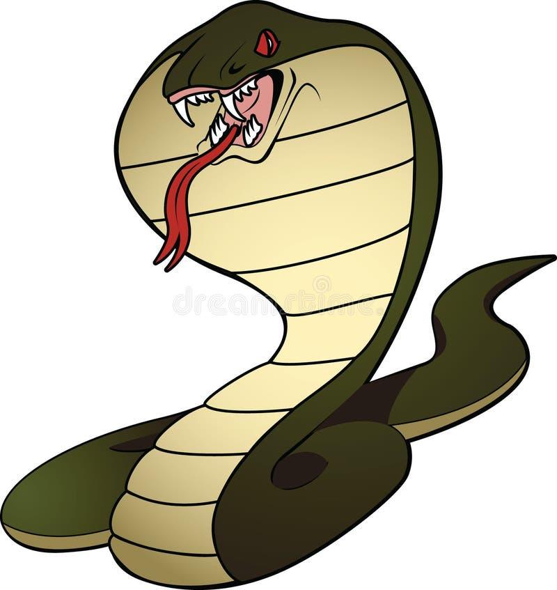 1 kobra royaltyfri foto