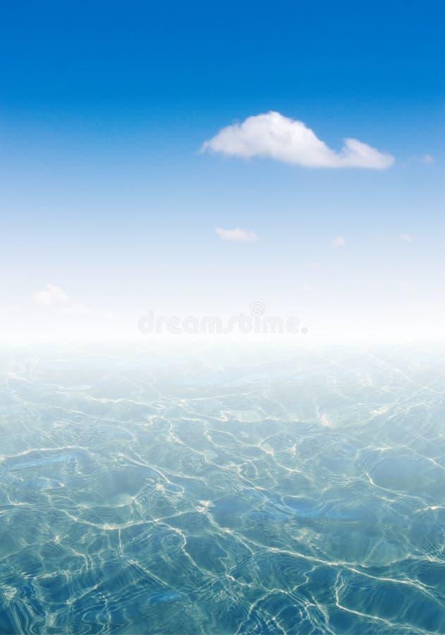 1 krajobrazu morza fotografia stock