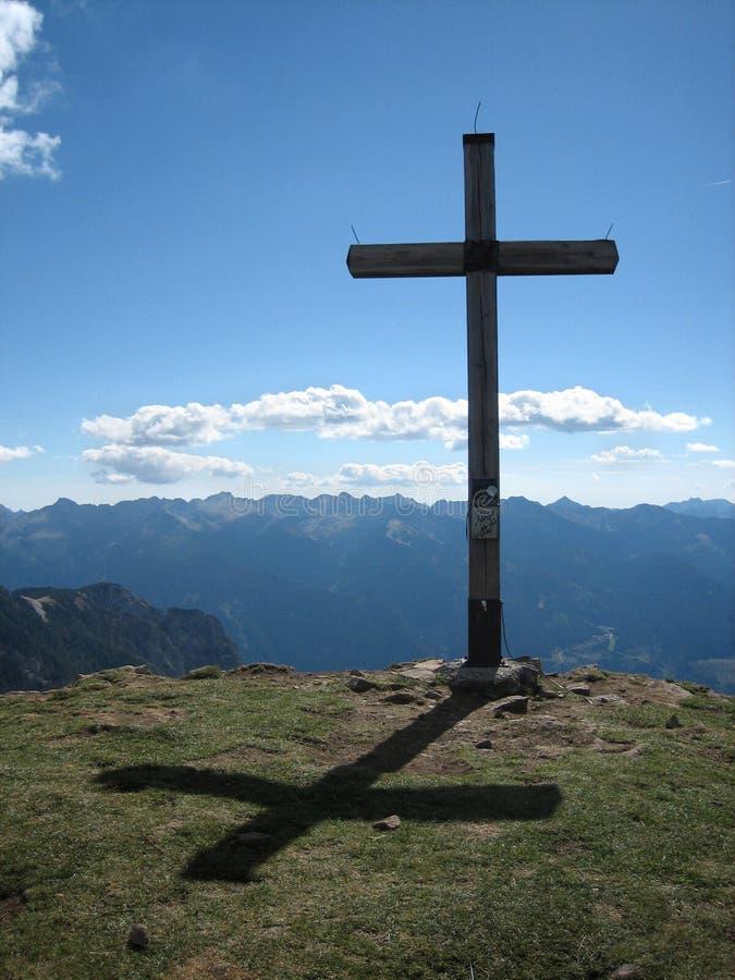 1 krzyż zdjęcie stock