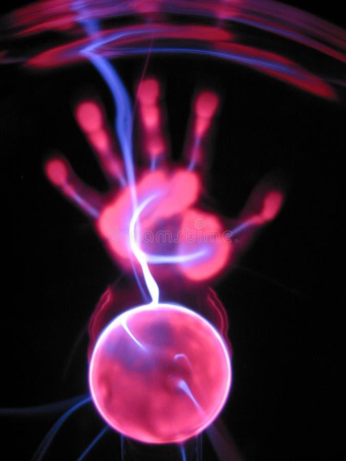 1 lampplasma royaltyfri bild