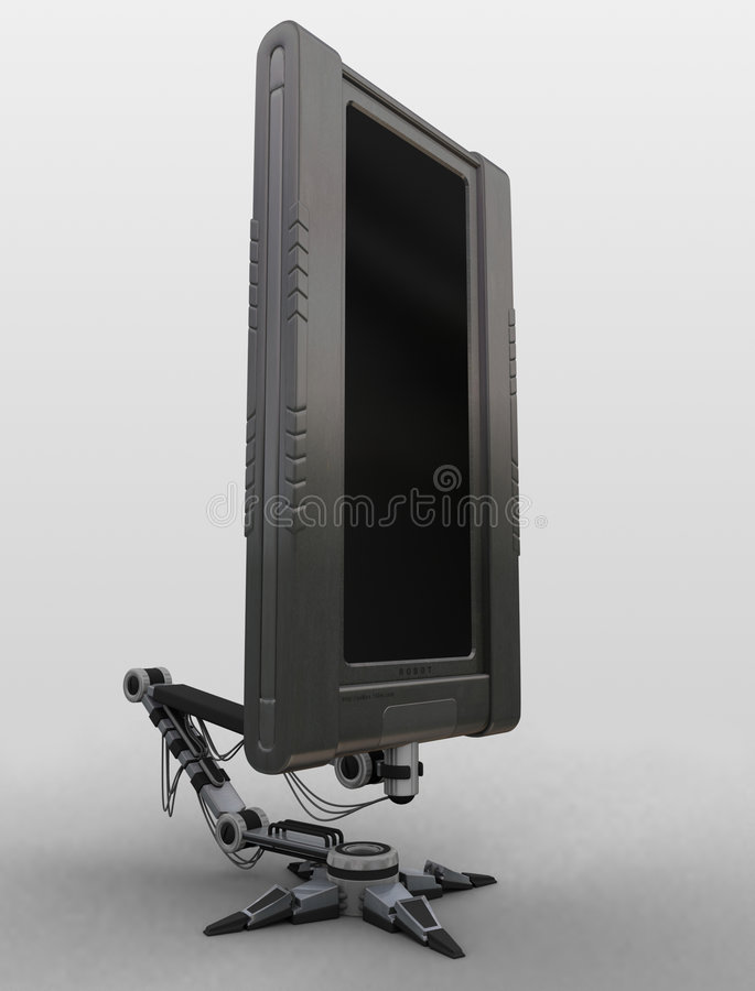 1 lcdrobot ssmax fotografia stock