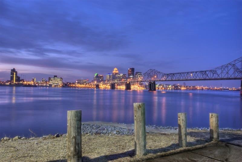 1 lever de soleil de Louisville photo stock