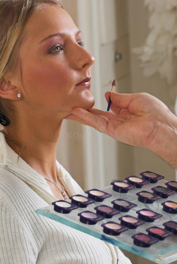 1 makeup arkivfoton