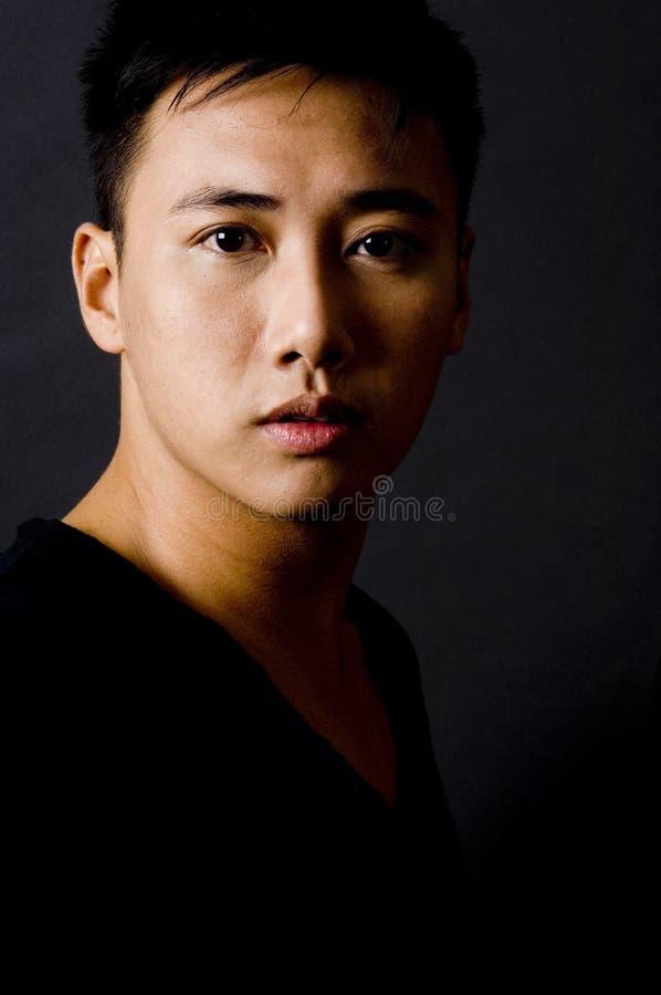 1 male modell arkivfoton