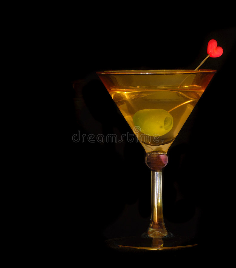 1 Martini obrazy royalty free