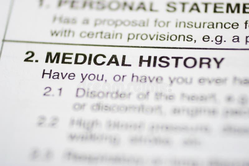 Download 1 Medycznej Historii Papierkowa Robota Obraz Stock - Obraz złożonej z medyczny, wymaganie: 141621